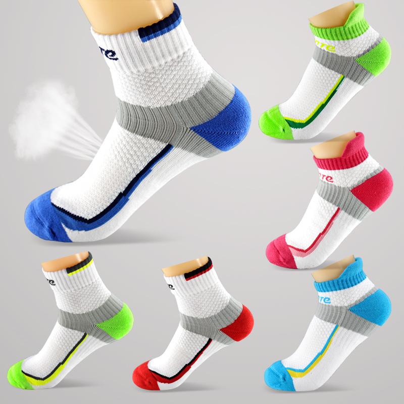 正品 品特羽毛球襪 透氣精梳棉襪 加厚毛巾底運動襪 4雙包郵