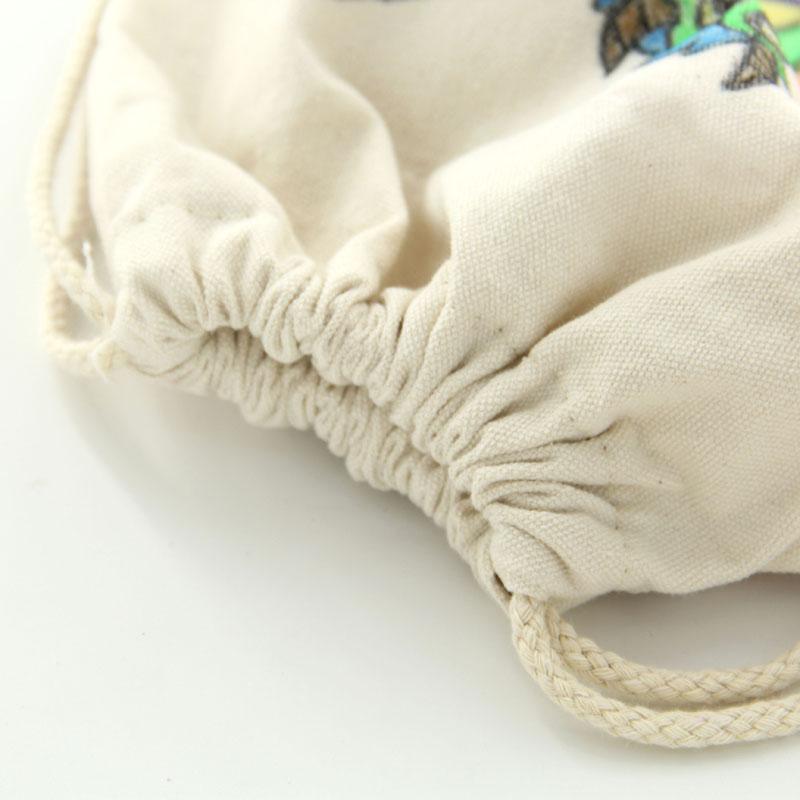 智乐空白DIY手绘画环保帆布背包 双肩包 抽绳包空白涂鸦帆布袋