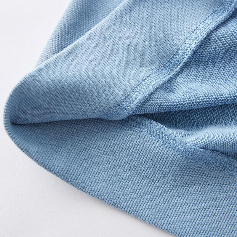 美特斯邦威卫衣女春秋季2020新款舒适休闲气质圆领女士针织套头衫