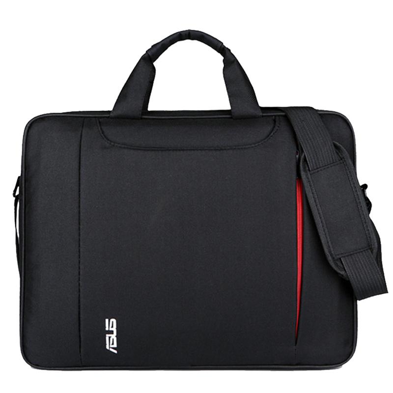华硕联想电脑包笔记本14寸15寸商务防震男女15.6英寸单肩手提包邮