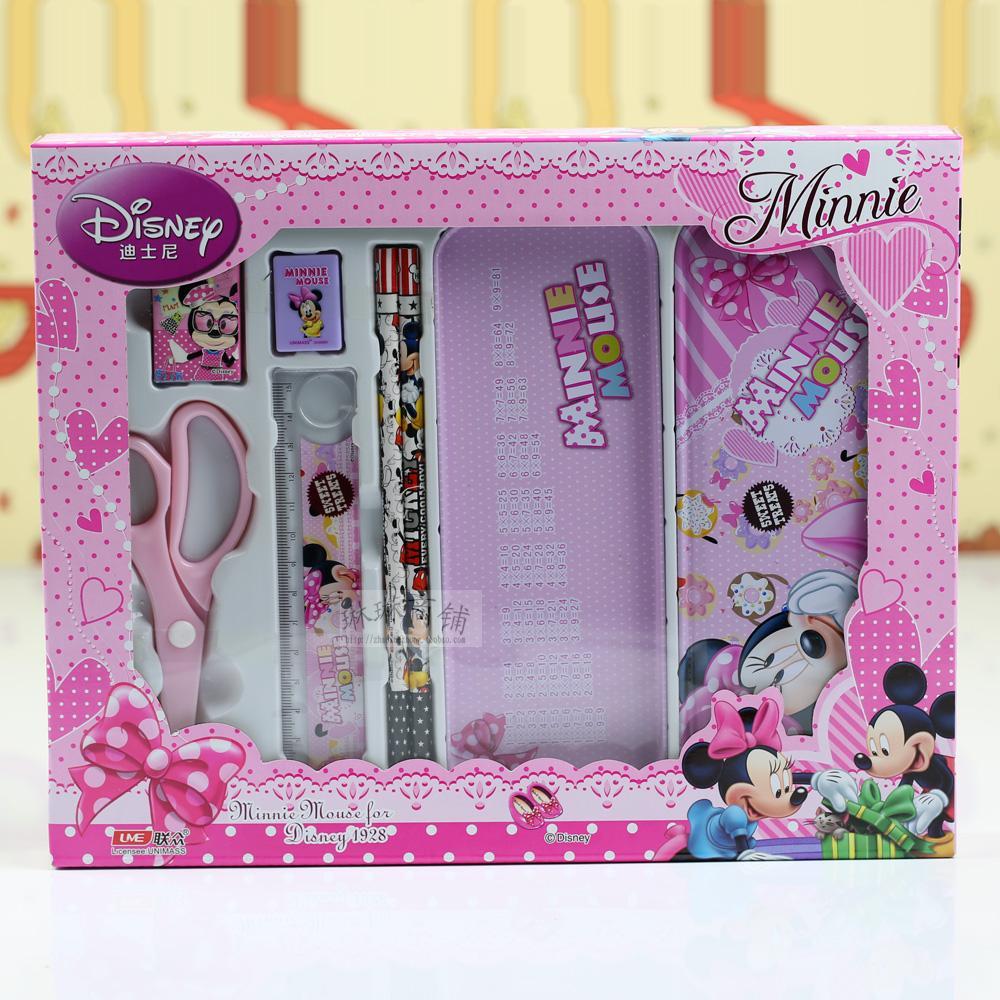 文具套装礼盒 小学生幼儿园六一生日礼物迪士尼儿童 学习用品批发