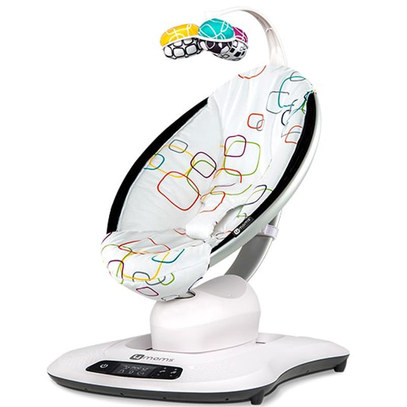 美国4moms mamaroo婴儿摇椅躺椅 婴儿电动摇篮宝宝安抚椅哄娃神器