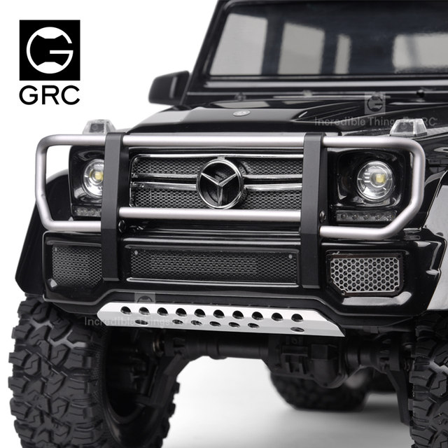 BeesClover For GRC Desert Front Bumper for 1//10 TRA-XXAS TR-X4 G500 TRX6 G63 Quick Release Split Front Bumper RC Crawler Parts Creative Gift
