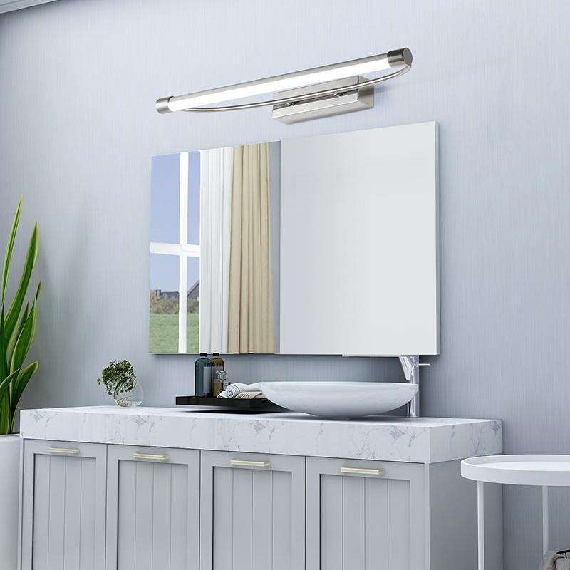 欧普照明led镜前灯浴室壁灯卫生间化妆美颜现代简约镜柜灯