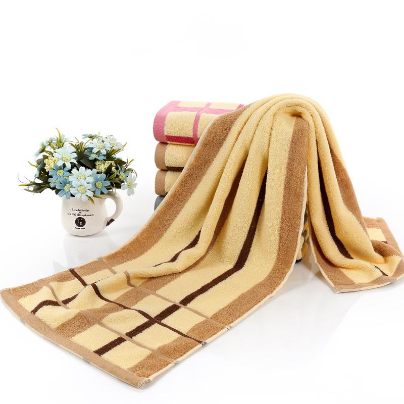 毛巾35*110運動洗澡健身房純棉長款長條加長沖涼吸汗繡字LOGO