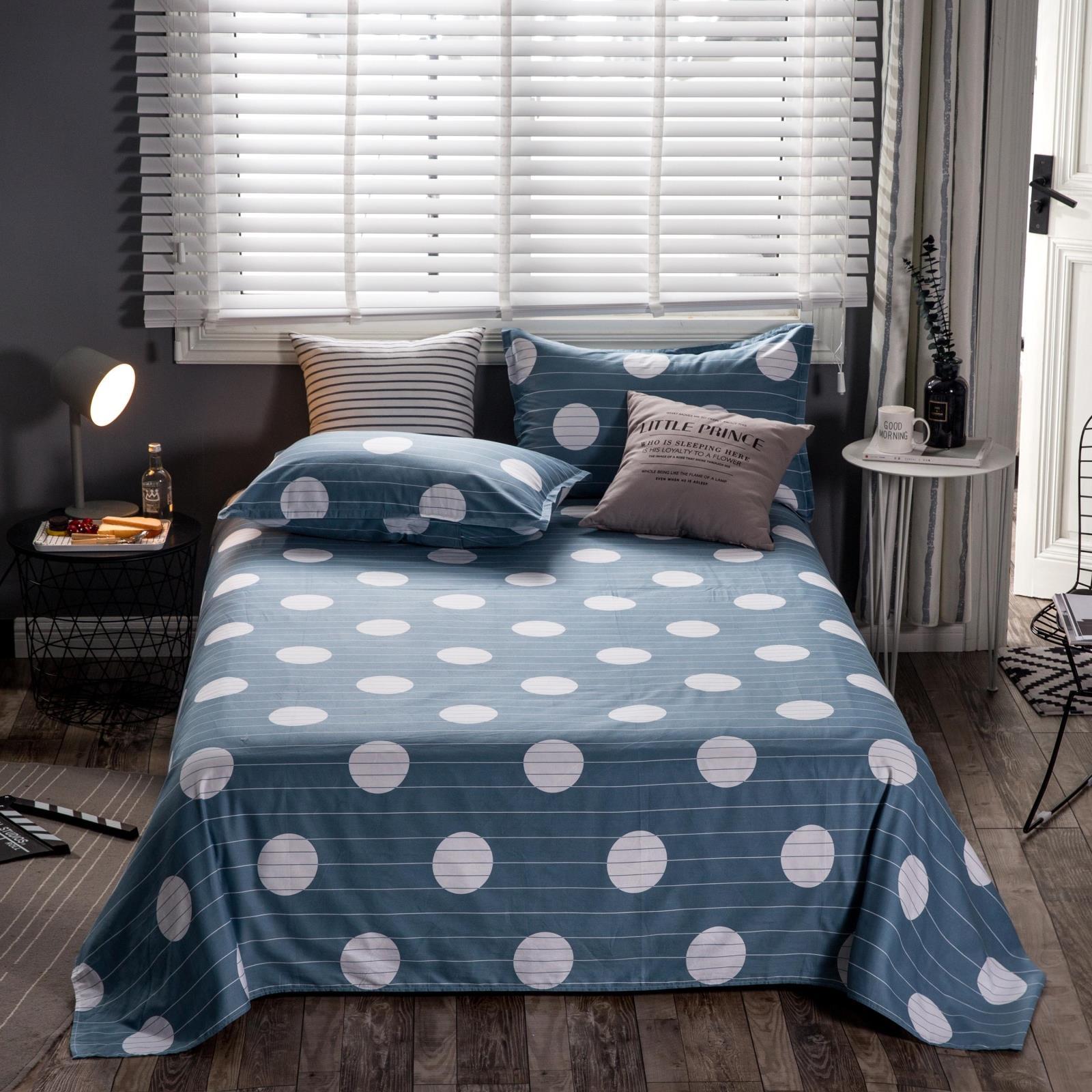 棉加厚 100 米单双人床 1.8m 清仓处理断码纯棉床单单件全棉学生宿舍