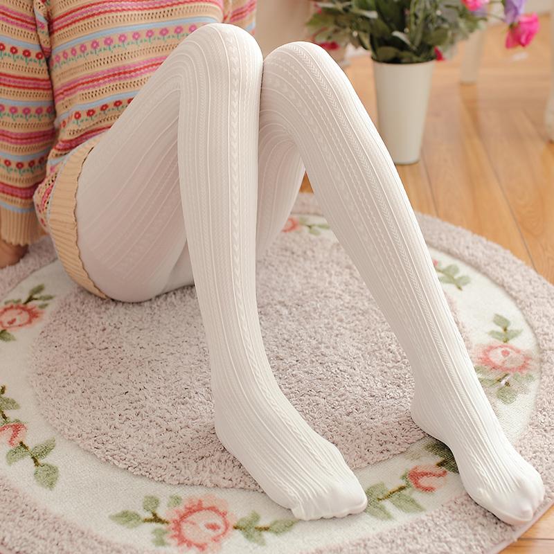 裤袜春季丝袜日系打底袜中厚连袜裤秋冬长袜子女白色天鹅绒连裤袜主图