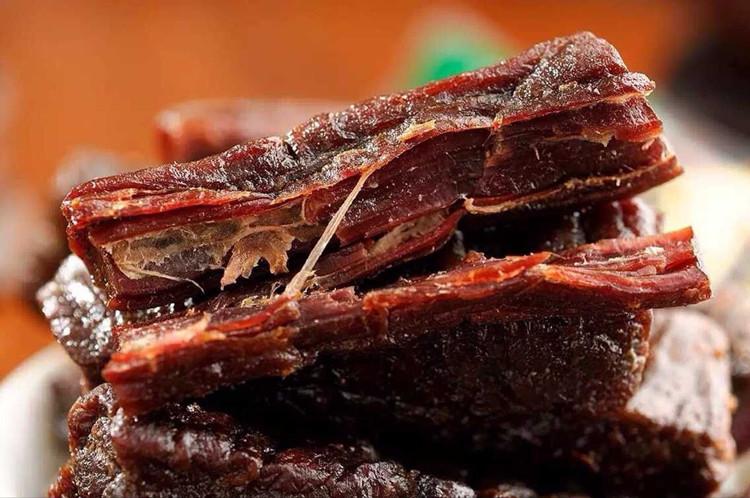 包邮 包旭日牧场风干牛肉干小吃零食 2 500g 内蒙特产牛肉干 牛肉干