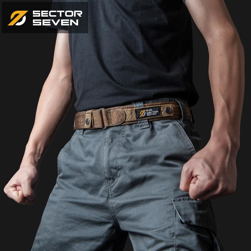 第七區 戶外戰術腰帶 多功能腰封 尼龍內腰帶 作訓皮帶 軍迷配飾