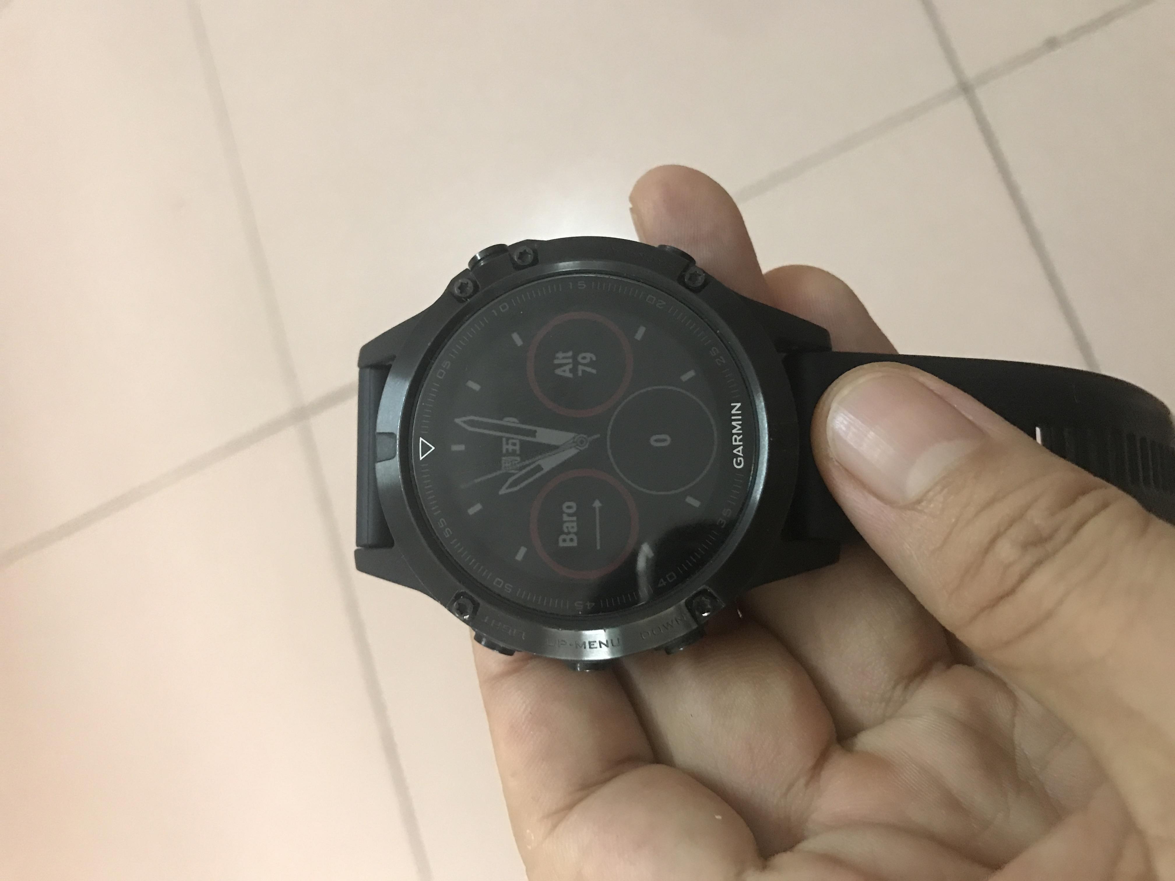 二手用过中文蓝宝石Garmin3HR 5S 3fenix5佳明飞耐时5Xplus钛合金