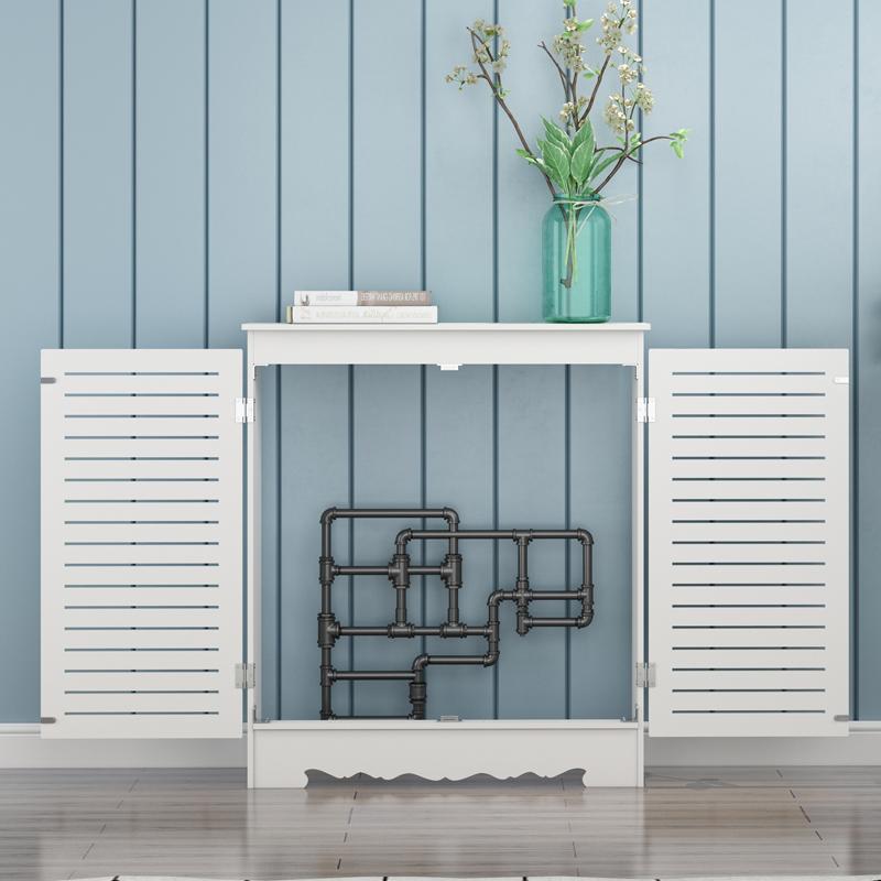 地暖分水器遮挡柜暖气罩创意装饰箱弱电表水表