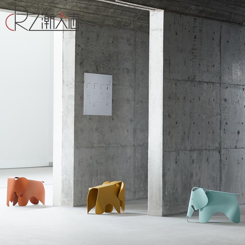 儿童玩具小椅子宝宝大小象凳幼儿园创意换鞋凳卡通动物塑料摄影椅