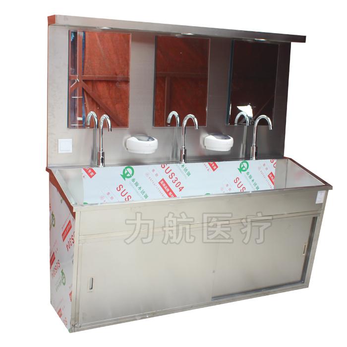 手术室洗手池脚踏感应医用刷手池 304 医用洗手池医用不锈钢洗手池