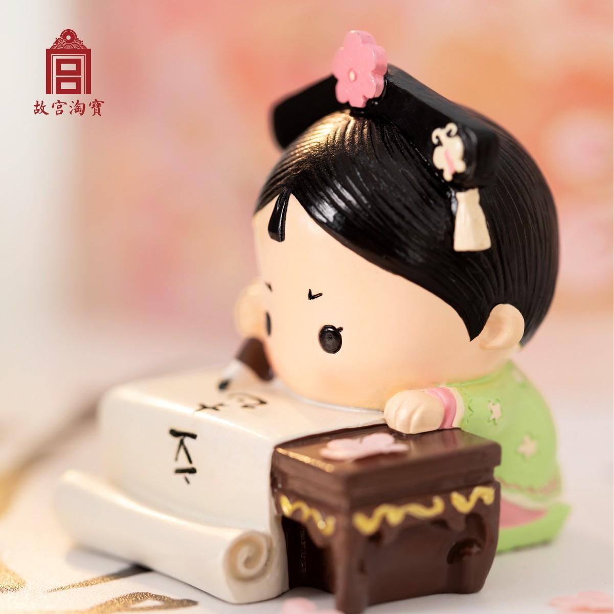 故宫淘宝文创格格的日常,送女生可爱生日小礼物