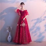 Fat people Pregnant women summer 2020 new bride toast clothing waist belly cover wedding dress Korean version was thin XL