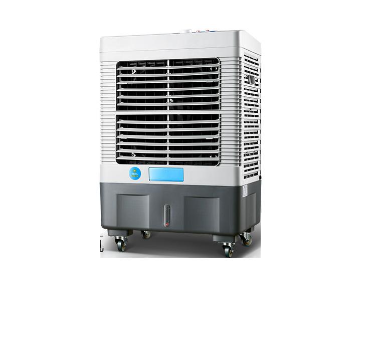 必升凉霸王空调扇工业冷风机家用移动制冷风扇商用水冷空调大冷气