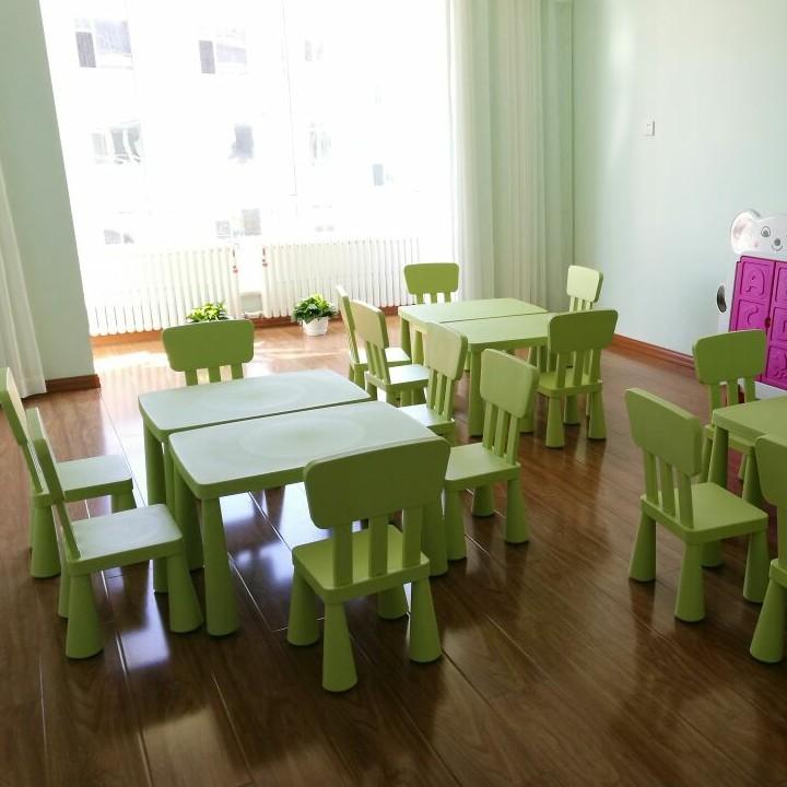 可升降包邮双层加厚幼儿园桌塑料桌宝宝桌儿童桌椅画画学习桌课桌