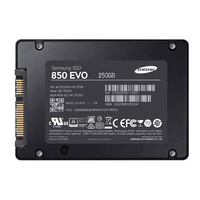 ?o}?mz?_samsung/三星 mz-75e250b/cn 850evo250g笔记本台式机ssd固态硬盘