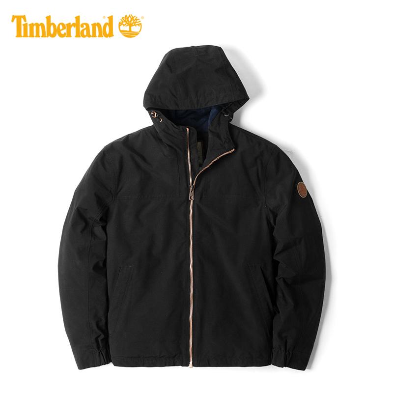 【經典款】Timberland添柏嵐男裝可收納衝鋒衣防水外套|A1GE3