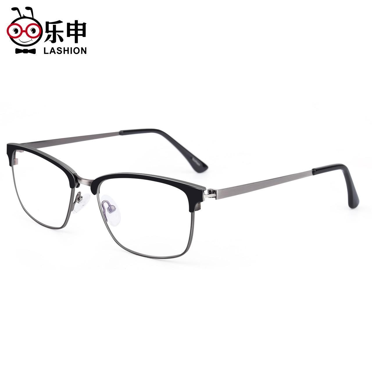 近视眼镜男潮可配度数小眼睛肖战同款防蓝光辐射眼镜店大眼镜框女