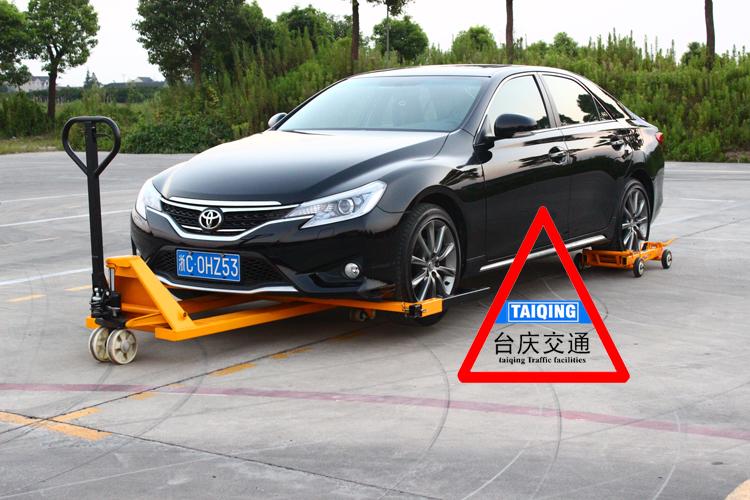 【出口产品】液压汽车移车器移动拖车架挪车器汽车起重移位工具
