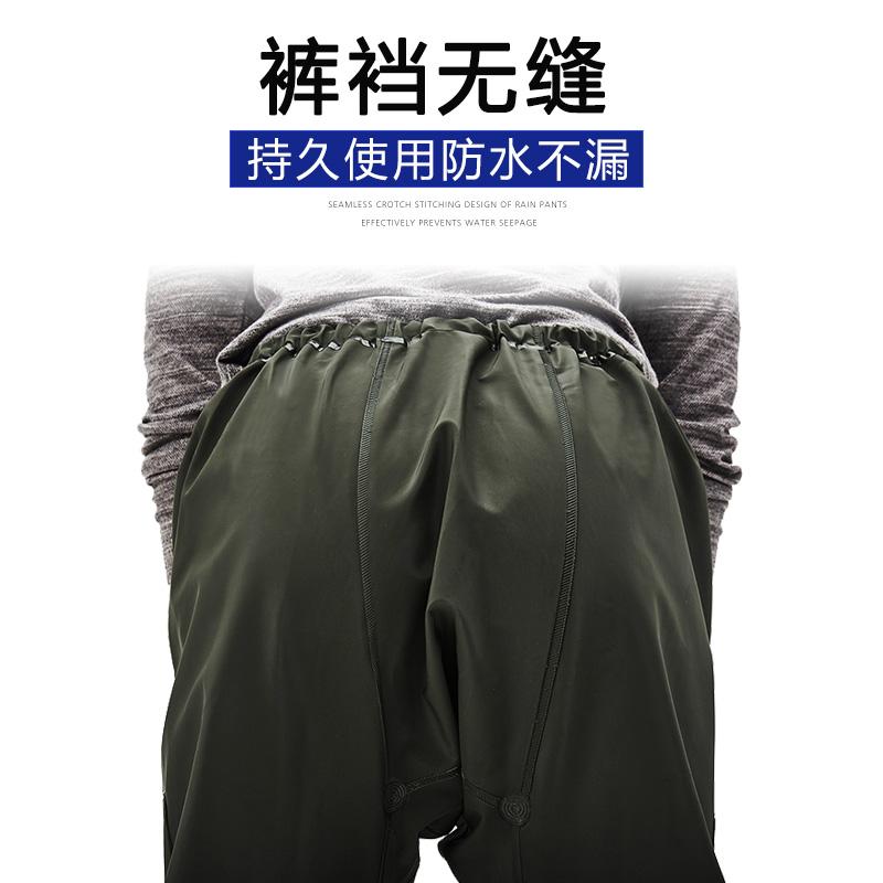 骑安雨衣雨裤套装男外卖骑行电瓶车加厚防水全身分体防暴雨雨衣