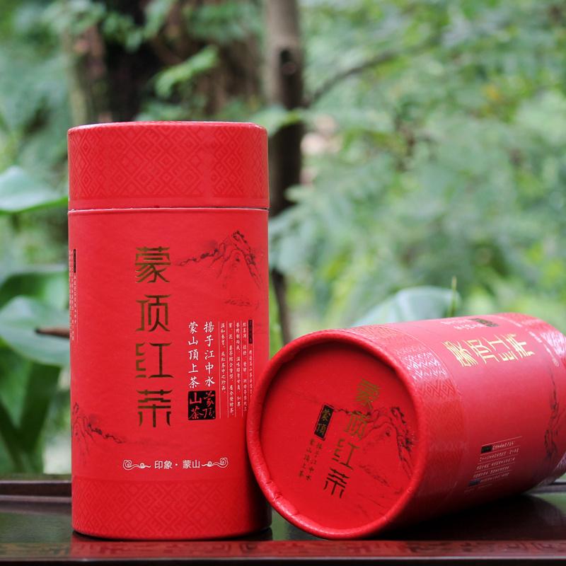 罐装包邮 200g 功夫红茶茶叶 工夫川红 蒙顶山茶 四川雅安工夫红茶