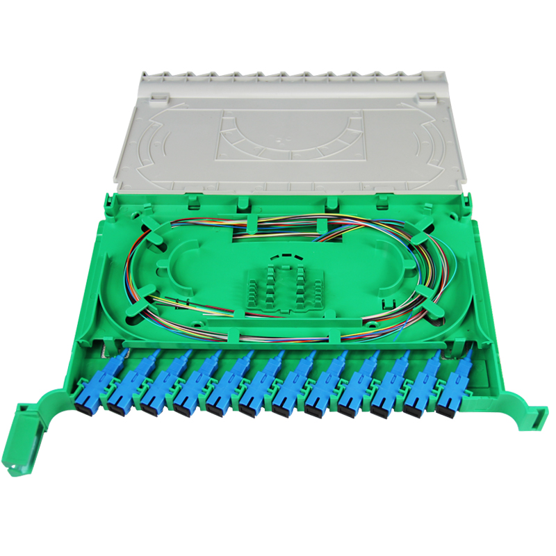 大唐保镖DT1806-12 odf光纤配线架12芯  odf配线架 odf单元箱 1u