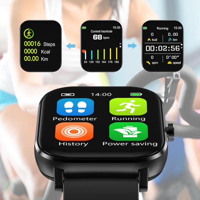 新款蓝牙可通话智能手表男防水多功能跑步运动成年电话手表女 2020