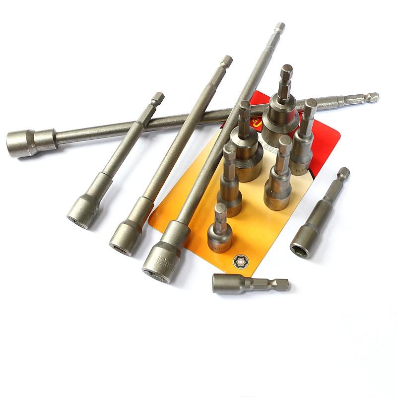 厂家直销 气电动 内六角磁性套筒螺丝批头 起子头 风批改锥6-19mm