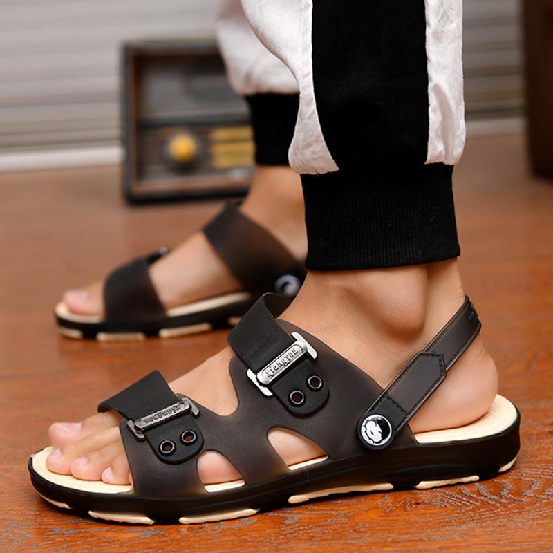 拖鞋男士凉鞋一字拖男新款韩版潮流时尚浴室内外穿两用凉拖鞋防滑 No.2