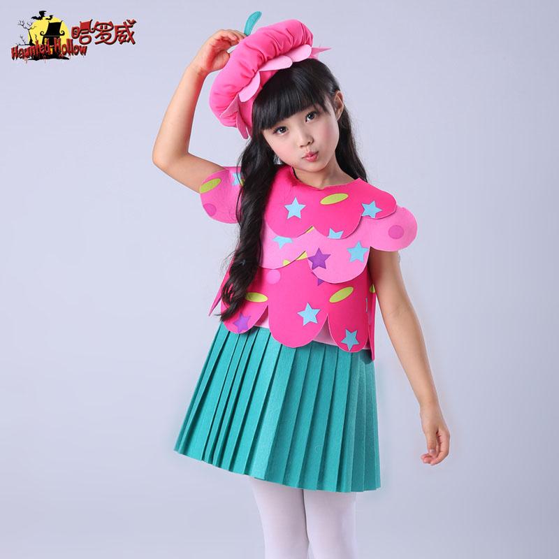 万圣节儿童服装cosplay舞台角色装扮衣服甜美公主裙女童蛋糕裙