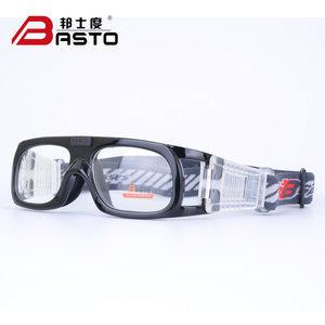 邦士度篮球眼镜男近视防雾 踢足球眼镜运动眼镜架防护目眼镜BL020