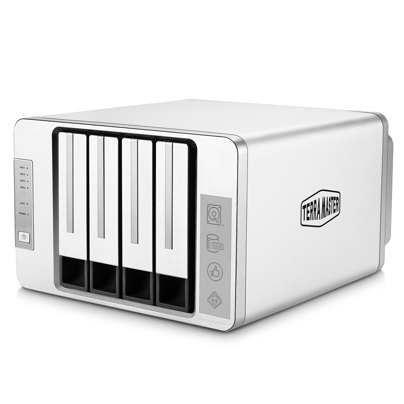 企业文件存储共享服务器 nas 双核 intel 220 F4 铁威马 MASTER TERRA