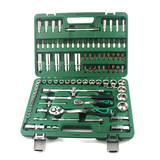 Powerful Lion 94 piece set 6.3mm + 12.5mm metric sleeve set auto repair auto maintenance repair combination socket wrench