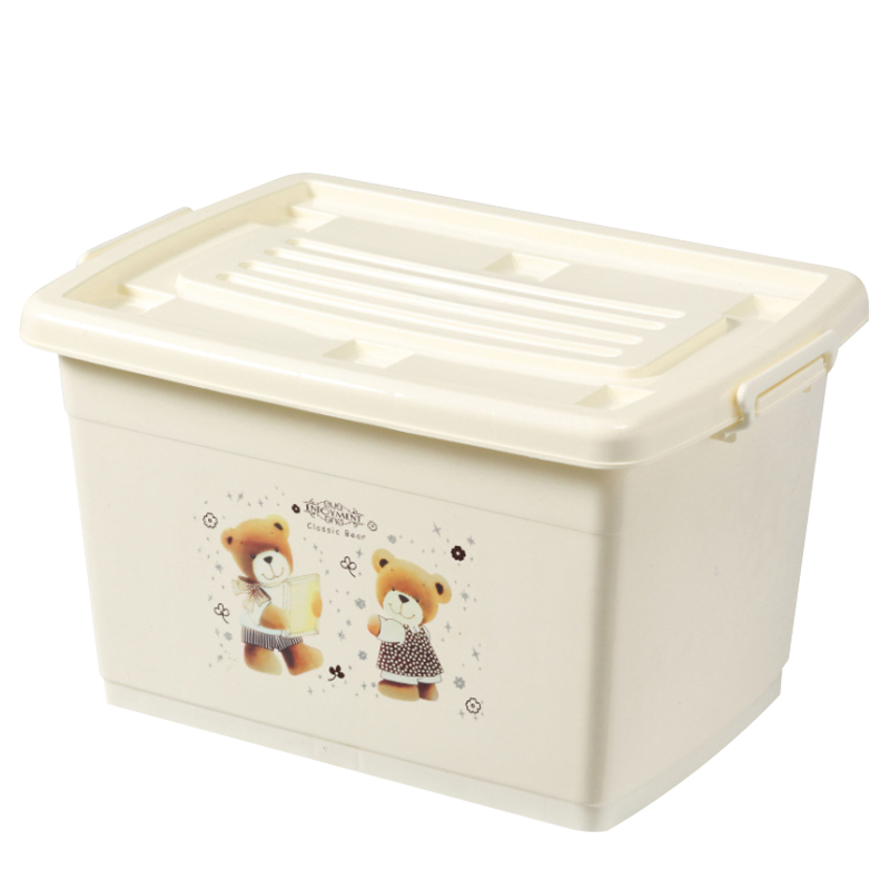塑料收纳箱加厚特大号家用衣柜储物箱子学生宿舍装衣服大号整理盒