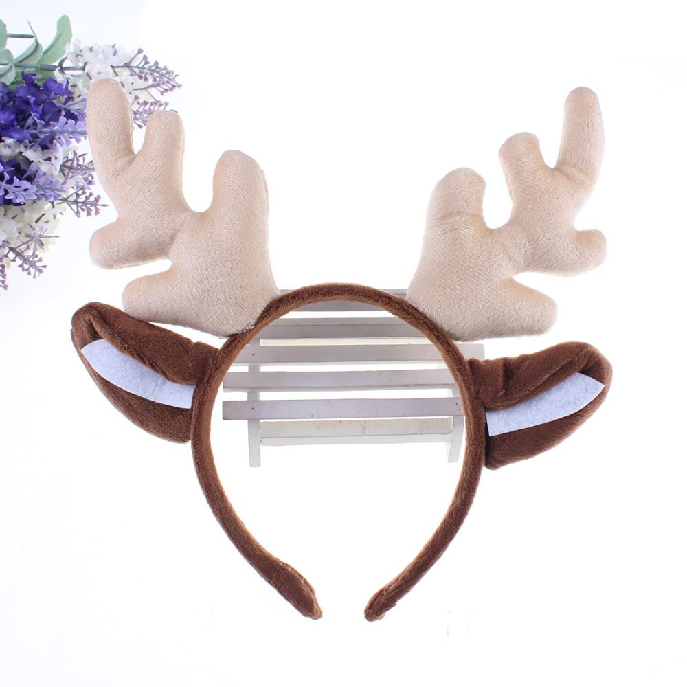 宸涛36g万圣节圣诞节用品头饰发箍 圣诞鹿角头箍麋鹿头饰