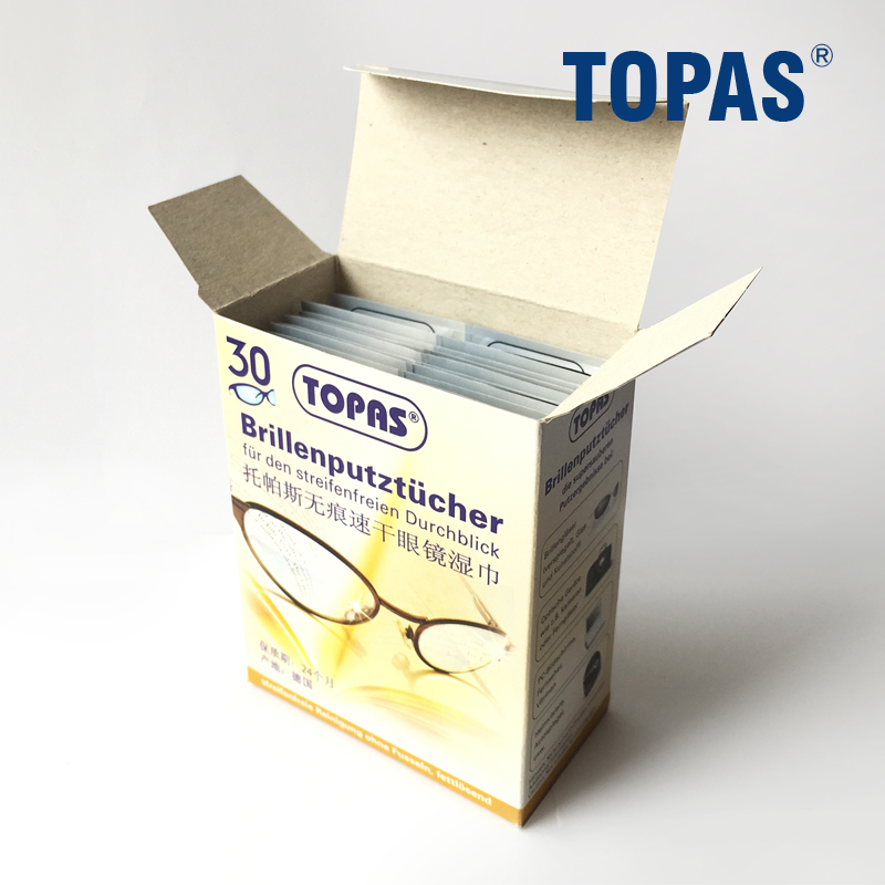 德国进口镜头纸高级擦镜纸清洁布单反相机镜头专业清洁湿巾210片