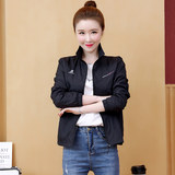Spring sporty woman jogging clothes long-sleeved sports jacket thin section single coat outdoor sports jacket mother