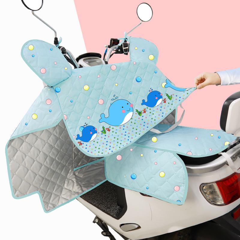 电动车挡风被防晒罩防水电瓶摩托电车遮阳罩薄款防雨夏季春秋四季