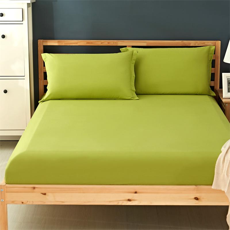 床笠单件纯棉全棉加厚保护床垫套席梦思防滑固定床罩定制儿童床套