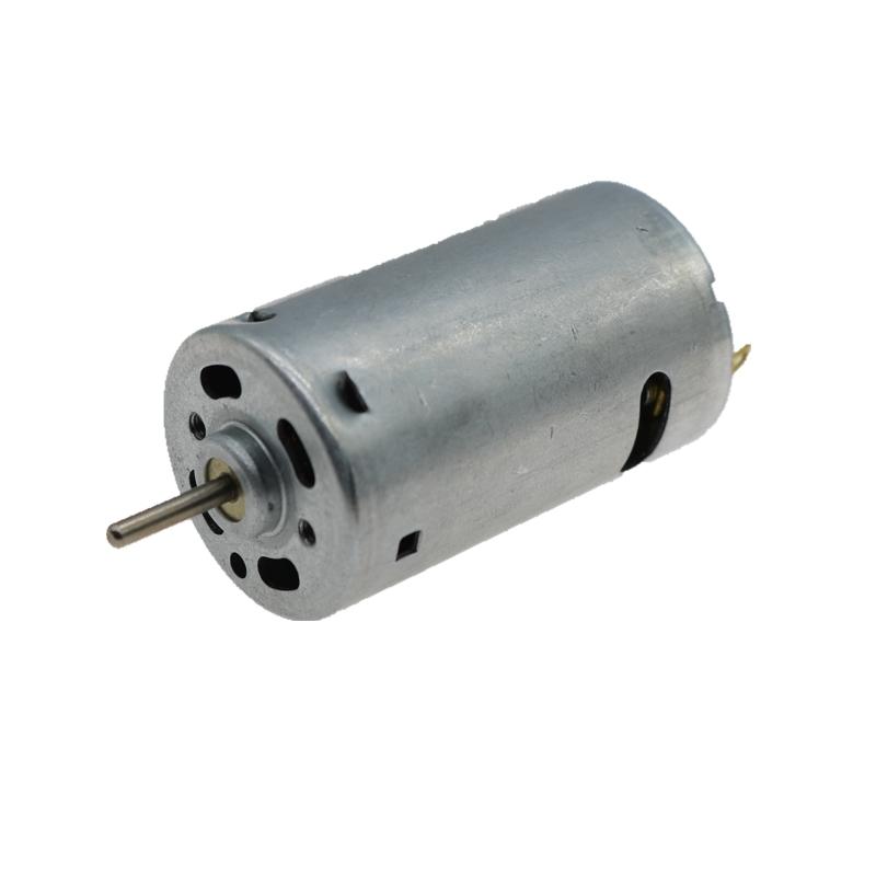 390大扭矩电机 小电钻马达12V 13000转 强磁碳刷 全金属高速电机