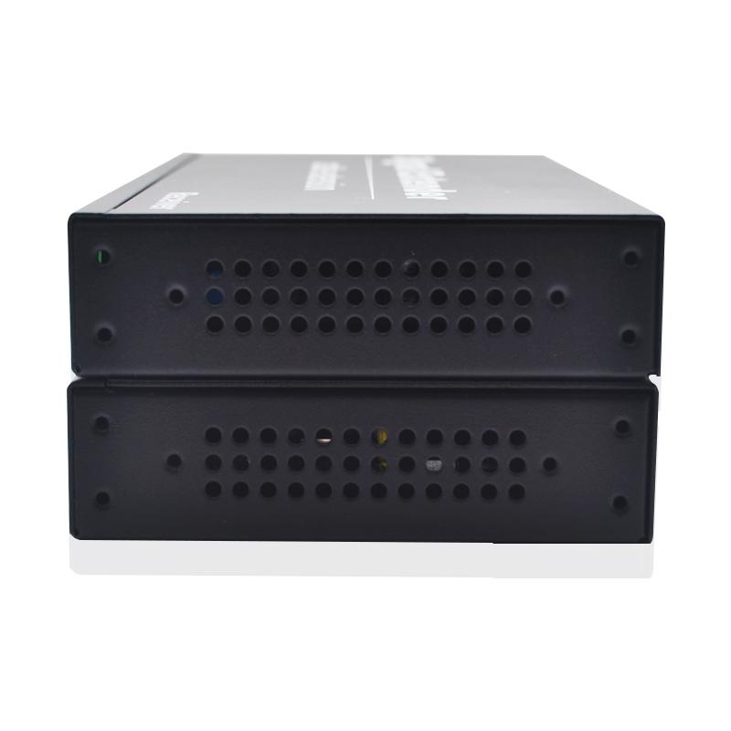 口 USB 1080P 光纤收发器光纤延长器 VGA 音视频光端机 VGA 朗恒高清