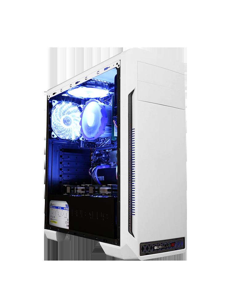攀升i7 8700/GTX1050Ti升1650八代台式DIY吃鸡游戏主机全套组装电脑主机