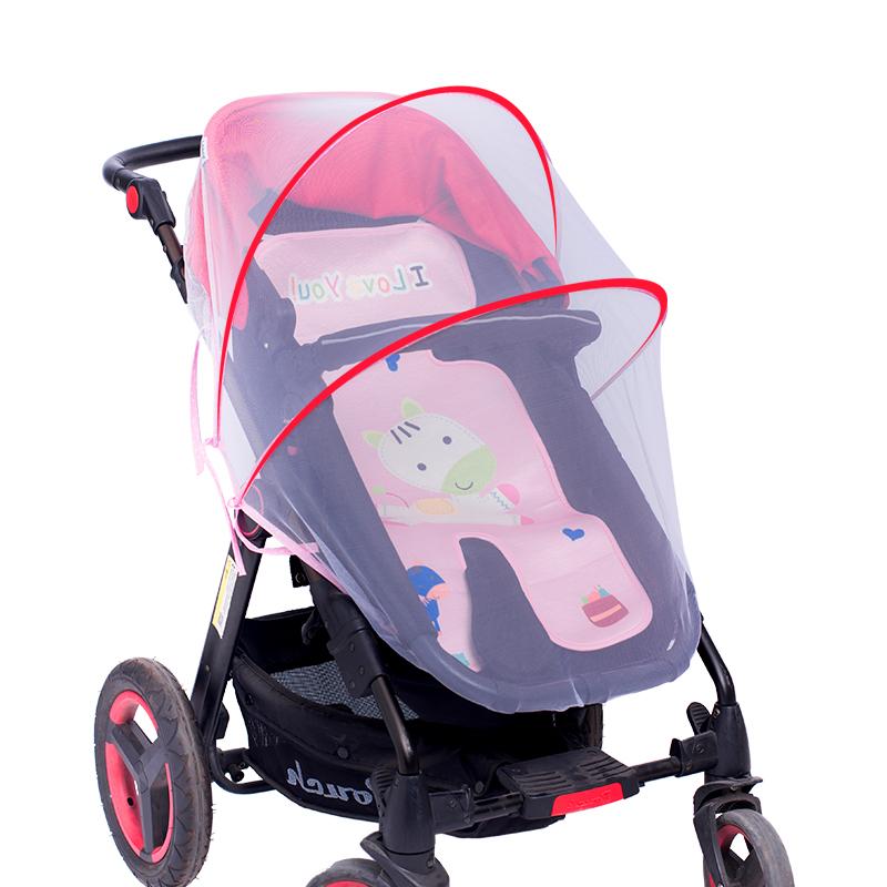 婴儿手推车蚊帐罩新生儿童车全罩式通用可折叠防蚊罩宝宝小孩蚊帐