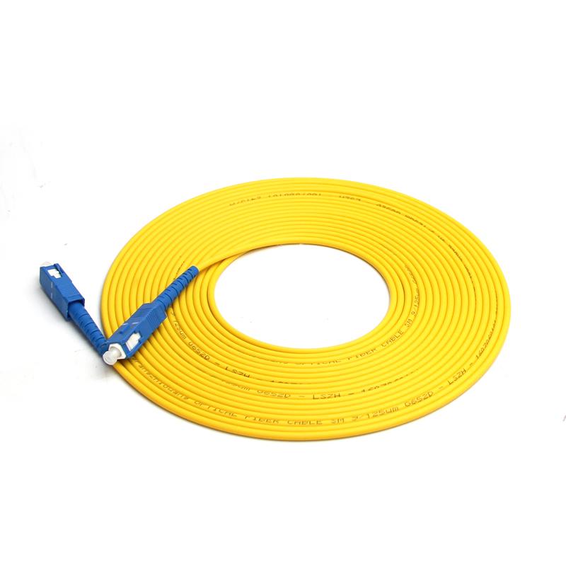 汤湖 3米SC-SC单模光纤跳线3米sc尾纤跳线光纤线5/10/15m网络级