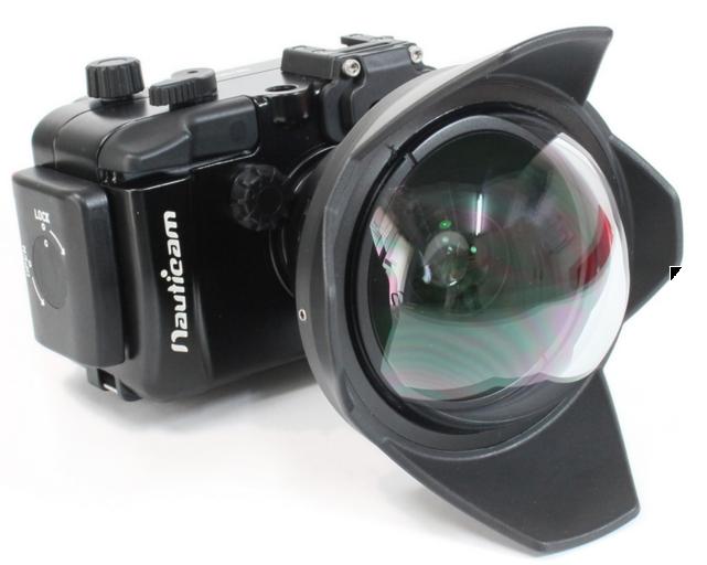 Bubblescuba UWL-400B X0.41倍放大 M52接口 适合奥林巴斯TG4,5