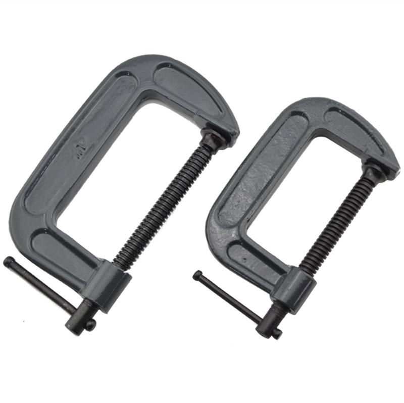 固定夹木工夹子工具g字夹f型c形紧固夹紧器锁紧快速夹桌面拼版夹