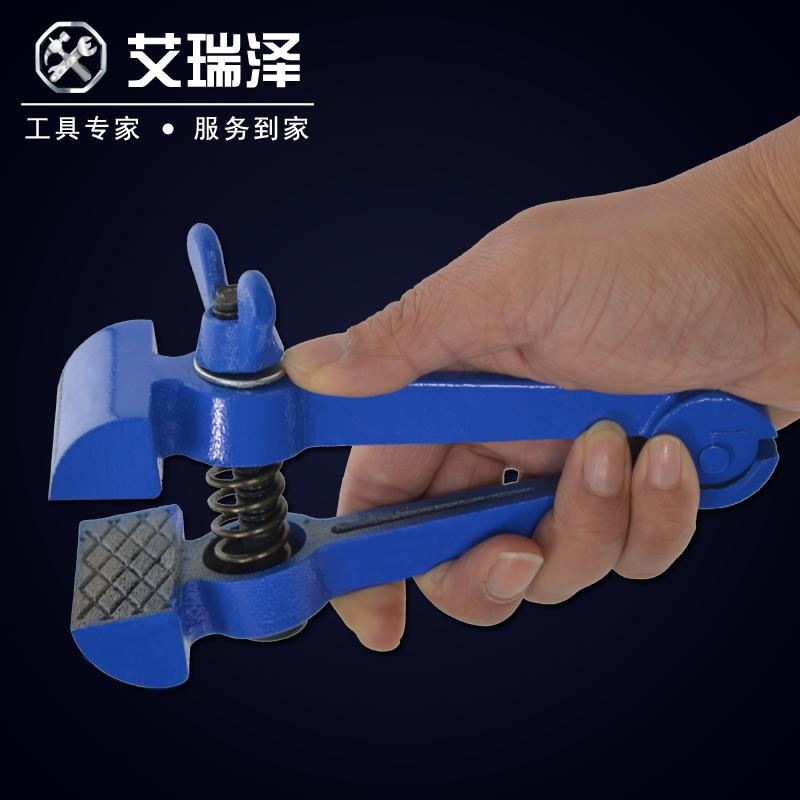艾瑞泽手虎钳手拿钳桌虎钳固定钳台虎钳小型精密焊接打磨40mm50mm
