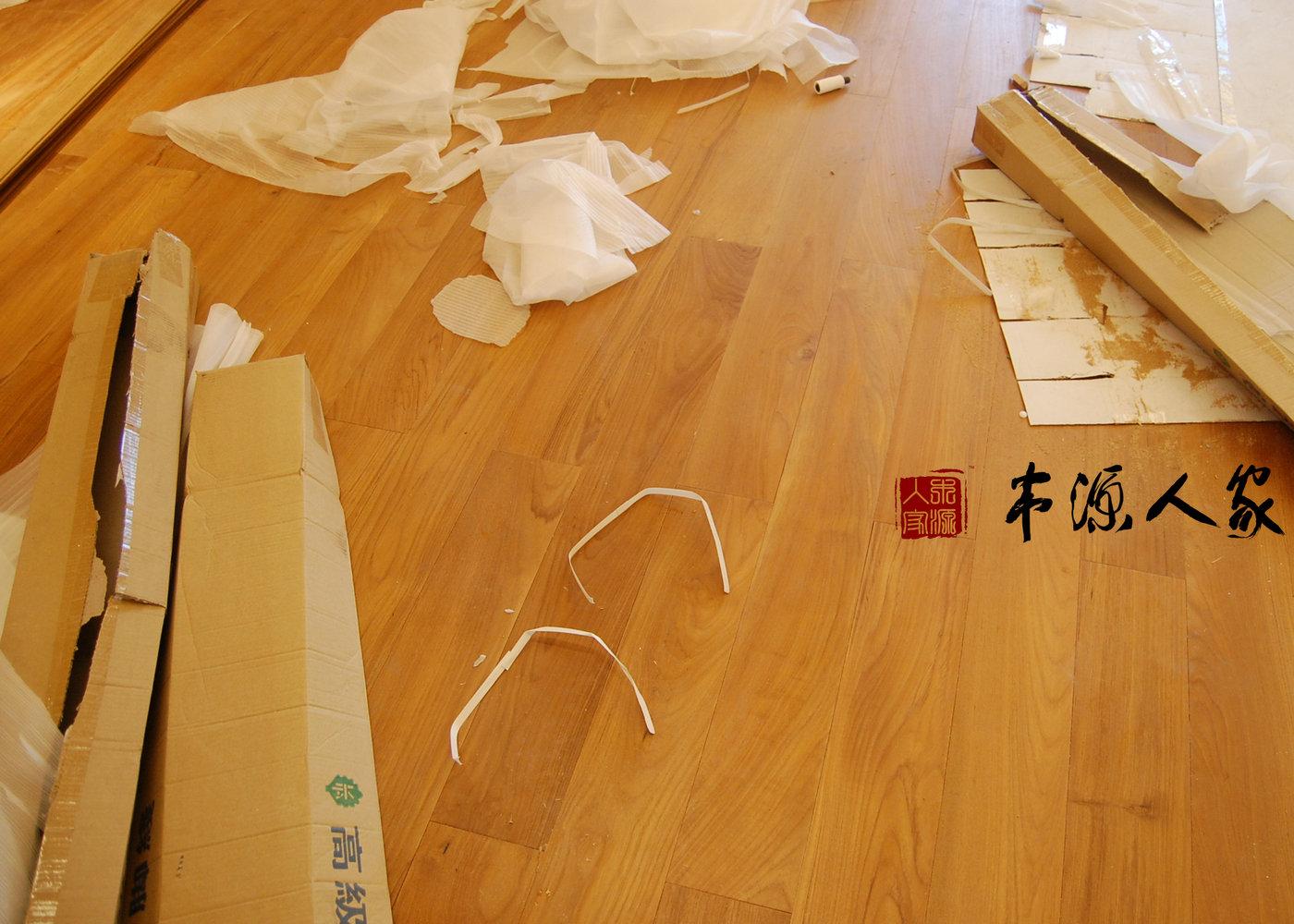 正宗A级缅甸柚木纯实木地板 欧诗木木蜡油地热地暖缅柚实木地板